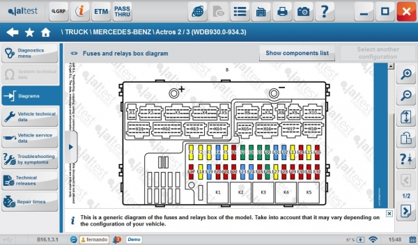 volvo fh fuse box diagram volvo image wiring diagram jaltest 16 1 available to now eclipse automotive on volvo fh fuse box diagram